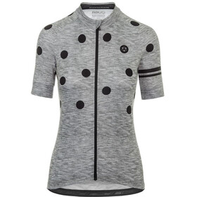 AGU Essential Dot Short Sleeve Jersey Women grey/black